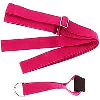 NON Sharplace 1 Pieza de Banda de Puerta Ajuste Pierna de Aptitud de Yoga Material Algodón Colores Opcionales - Rosado