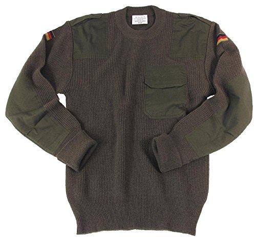 MFH Herren Bundeswehr Pullover, Oliv, 50