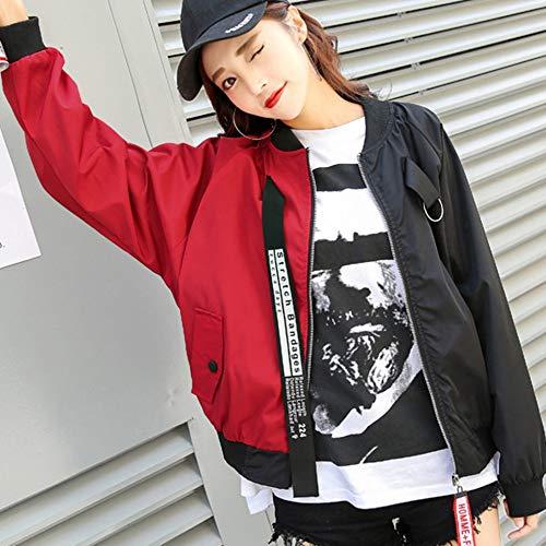 HGJVBFGH1 Chaqueta Corta Mujer Nueva versión Coreana