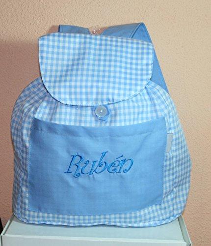 primeraedad-bolsa-mochila-guarderia-de-tela-cuadros-vichy-personalizada26-x-32-x-11-cm-color-celeste