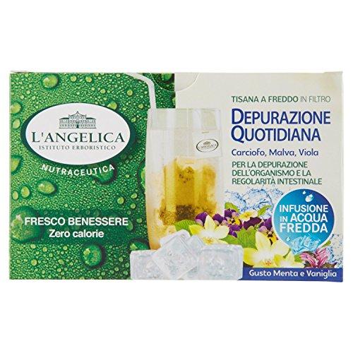 L'Angelica Tisana a Freddo Depurazione Quotidiana - 15 Filtri [27 gr] - [confezione da 10]