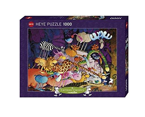 Preisvergleich Produktbild Heye 29213 - Standardpuzzles 1000 Teile Tarzan, Guillermo Mordillo