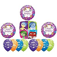 Disney Inside Out Your'e The Best Happy Birthday Party Balloon Decoration by Inside Out Party Supplies