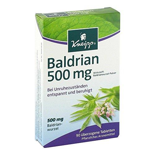 Kneipp Baldrian 500mg 90 Tabletten 5er Pack