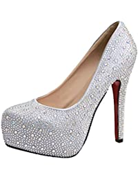 V-SOL Zapatos Tacón Alto Para Mujer
