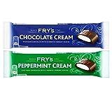192 x 49g Fry's Chocolate Cream & Peppermint Cream Bars...
