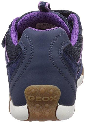 Geox  JR TALE B, Sneakers basses fille Bleu - Blau (NAVYC4002)