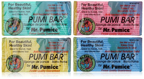 Mr. Pumice Pumi Bar (24 Pieces) Display by Mr. Pumice