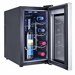 8 Flaschen WEINKÜHLSCHRANK KÜHLBOX KÜHLSCHRANK MINIBAR Winecooler