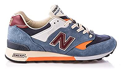 new balance herren sneaker m577 tbo blau
