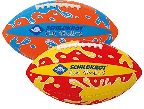 NEOPREN American Football, farblich sort.(blau,rot,orange) (Größe 6, ca.26,5cm x 15cm) Schildkröt Funsports