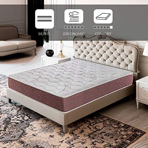 ROYAL SLEEP Colchón viscoelástico 135x190 firmeza Media, Alta Gama, Confort y adaptabilidad Alta...