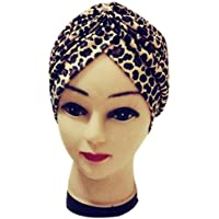 squarex Bundfaltenhose dehnbar Polyester Baden Turban Hat Head Cover Sun Cap