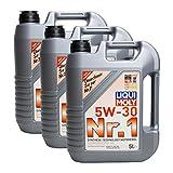 Liqui Moly 3X 20616 NR. 1 MOTORÖL LONGLIFE 3 5W-30 5 L Liter