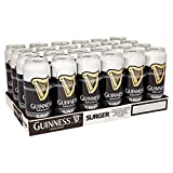 Guinness Draught Surger 24 x 520ml (Pack of 24x520m)