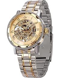 AMPM24 PMW223 - Reloj para hombres, correa de metal color plateado