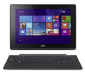 "Acer Switch 10E PC Portable Hybride Tactile 10"" Gris (Intel Atom, 2 Go de RAM, Disque Dur 500 Go + 32 Go SSD, Windows 8.1 Pro)"