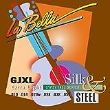 Labella GJXL Jeu de Cordes pour Guitare 10/50
