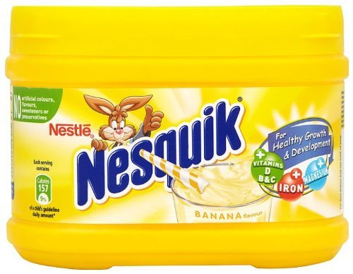 Nestle Nesquik Banana Flavor Milk Shake 300 G (1 box) by nestle