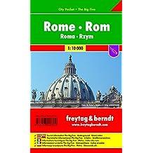 Rom, Stadtplan 1:10.000, City Pocket, Freytag Berndt Stadtpläne