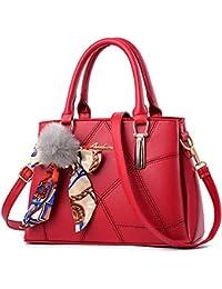 e16a389856225 WERERFG Luxus Handtaschen Pelz Frauen Taschen Patchwork 2017 Mode Lässig  Tote Süße Damen Umhängetasche Band Frauen