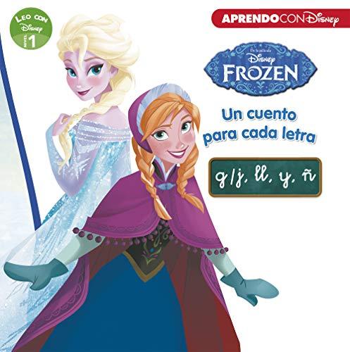 Frozen. Un cuento para cada letra: g/j, ll, y, ñ (Leo con Disney Nivel 1) por Disney