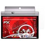 atFolix Panzerschutzfolie für Lenovo Yoga Tab 3 Pro 10 Panzerfolie - 2 x FX-Shock-Antireflex blendfreie stoßabsorbierende Displayschutzfolie