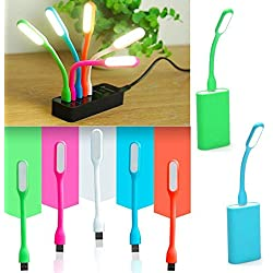 Flexible USB LED Light Lamp For Home (5V, 1.2W) (Multicolour)
