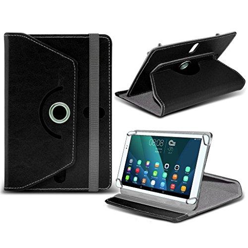 (Schwarz) Samsung Galaxy Tab E [8 Zoll] Case [Cover StŠnder] fŸr Samsung Galaxy Tab E [8 Zoll] Tablet PC Kasten-Abdeckung [Standplatz -hŸlle] strapazierfŠhigem Synthetik-PU-Leder-360 Roatating Abdeckung Tasche Fall hŸlle [Cover StŠnder] mit 4 Federn von i - Tronixs (Tablet Samsung 8-zoll-abdeckung)