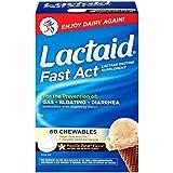 Lactaid - Fast Loi Enzyme Lactase Supplément, Comprimé À Mâcher, Vanilla Twist