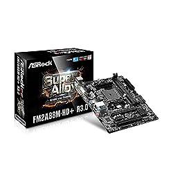 Asrock FM2A88M-HD+ R3.0 A88X Socket FM2+ Micro ATX Motherboard - motherboards (DDR3-SDRAM, DIMM, 1066,1333,1600,1866,2133,2400 MHz, Dual, 32 GB, AMD)