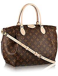 Louis Vuitton Auténtico Monogram lienzo Turenne mm Tote Bag bolso artículo: m48814fabricado en Francia