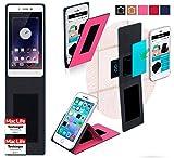 reboon Hülle für Oppo Mirror 5 Tasche Cover Case Bumper | Pink | Testsieger