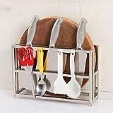 WYBD.Y Scaffale di stoccaggio Forniture per Cucina Scaffali a torretta Appendiabiti a Parete Rack Organizzatore di Cucina Regalo da Cucina