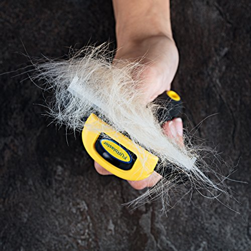 Deshedding Tool & Pet Grooming Brush for Small, Medium & Large Dogs, Cats & Horses, With Short to Long Hair. Dramatically Reduces Shedding In Under 15 Minutes Guaranteed