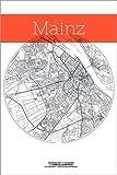 Poster 61 x 91 cm: Mainz Karte Kreis von Campus Graphics -