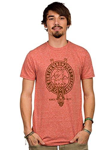 Burton Herren T-Shirt Mens B.S.C. heather cerulean
