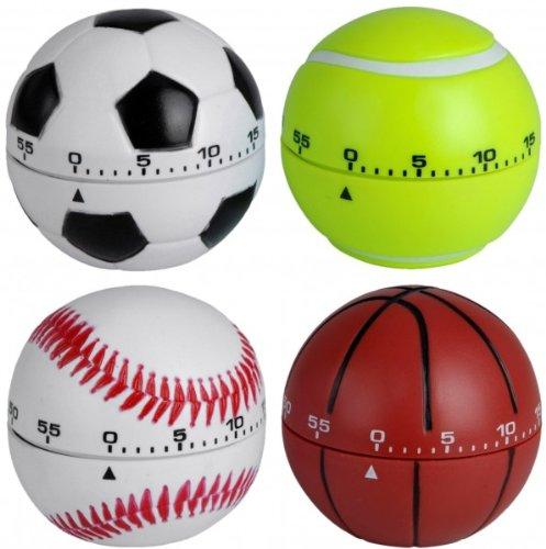 Eieruhr 'BALL' - Kurzzeitmesser bis 60 Minuten - Küchenuhr - Timer - Uhr - Wecker - Küchentimer