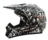 O'Neal ROCKHARD II MX Helm Hustler Limited Moto Cross Enduro Motorrad MX, 0801T-5, Größe Large (59-60 cm)