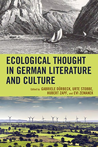 Ecological Thought in German Literature and Culture (Ecocritical Theory and Practice)