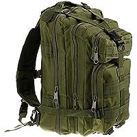 Mochila táctica de viaje, senderismo y campamento con estampe militar, 3 Pack 3P, GR