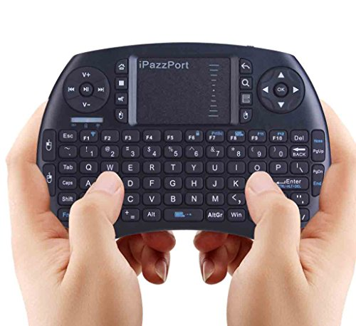 iPazzPort Wireless Mini Keyboard with Touchpad for Android TV Box and  Raspberry Pi 3 and HTPC KP-810