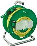 Brennenstuhl Wasserschlauchtrommel WS32 (20m - Spezialkunststoff - Made In Germany) grün