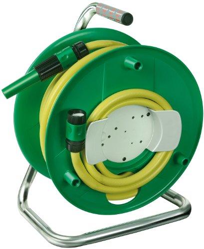 Brennenstuhl Wasserschlauchtrommel WS32 (20m – Spezialkunststoff – Made In Germany) grün