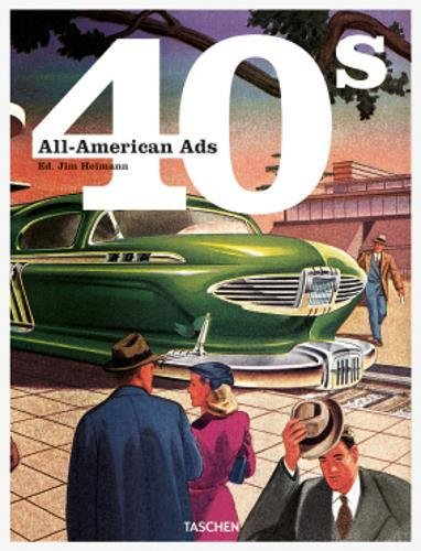 Portada del libro All-American Ads of the 40s (Co 25)