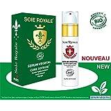 Sérum Végétal Soie Royale BIO Cure Soyeuse Acide Hyaluronique Vitamines C-E-F Soin Régénérant Cellulaire 99% Actifs...