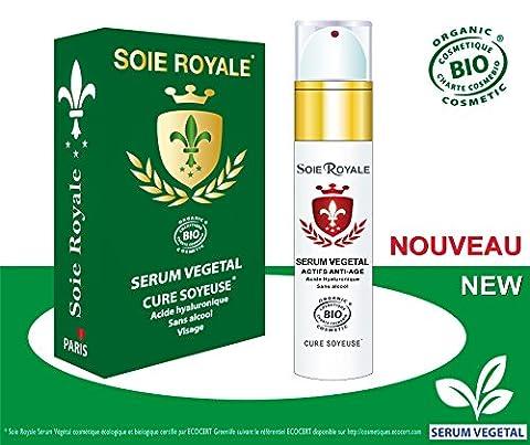 Sérum Végétal Soie Royale BIO Cure Soyeuse Acide Hyaluronique Vitamines