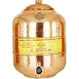 Taluka Copper Matka Water Pot Pitcher Pot Water Tank 12000 ML For Water Drinking And Storing Purposes Healthy Habits Ayurvedic Benefits