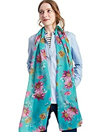 Joules Womens/Ladies Wensley Longline Printed Polyester Scarf