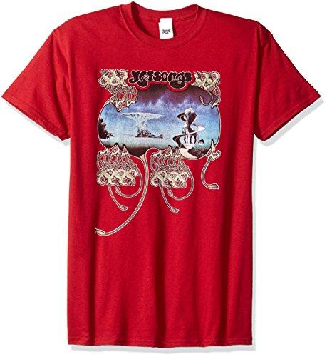 Trevco Herren T-Shirt Scharlachrot